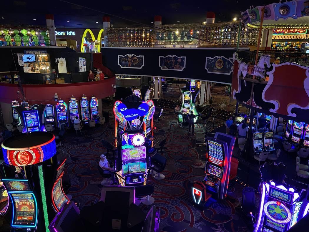 El casino del Circus Circus fotografiado el 12 de marzo de 2020, en Las Vegas. [Foto Rachel Ast ...