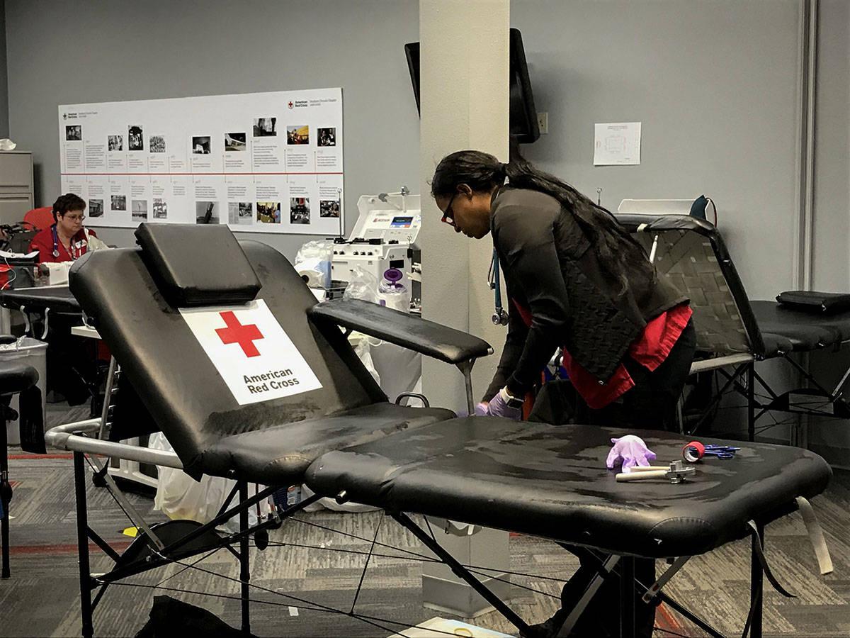 La pandemia del coronavirus ha provocado escasez de sangre, por lo que la Cruz Roja invita a la ...