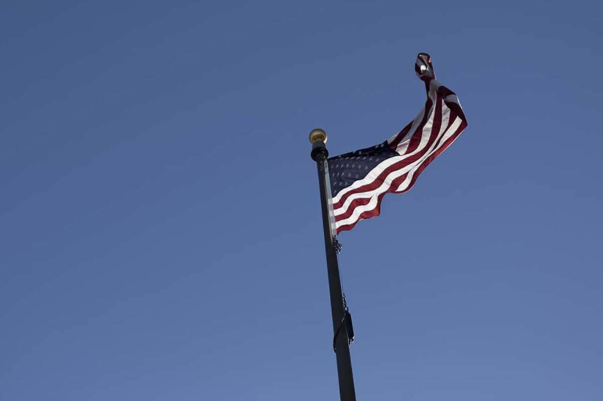 Se sentirán vientos de hasta 50 millas por hora en el Valle de Las Vegas el miércoles, 25 de ...