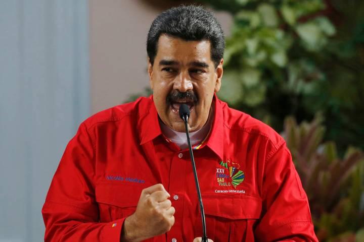 Fotografía de archivo del presidente de Venezuela, Nicolás Maduro. [Foto Ariana Cubillos / AP]