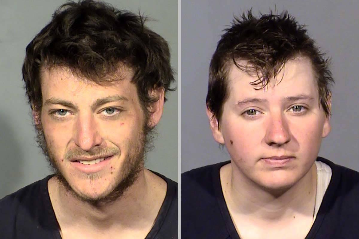 Jacob Berkovitz, a la izquierda, y Tonya Dillard (Departamento de Policía Metropolitana de Las ...