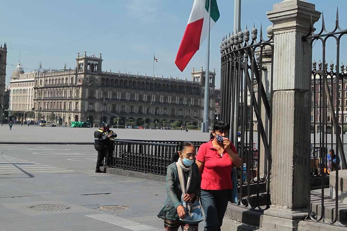 Ciudad de México, 31 Mar 2020 (Notimex-Gustavo Durán).- Comercios cerrados y poca afluencia p ...