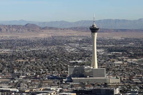 Se espera que Las Vegas tenga su primer día de 80 grados del año el miércoles 1º de abril d ...