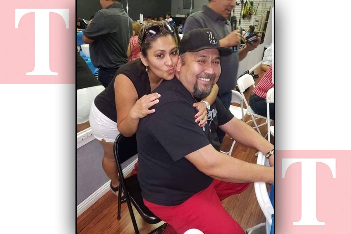 Fotografía de archivo de la señora Martha Álvarez y su esposo Adrián Medina, ambos originar ...