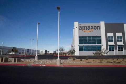 Fotografía de archivo del Amazon Fulfillment Center en North Las Vegas. Miércoles 3 de enero ...