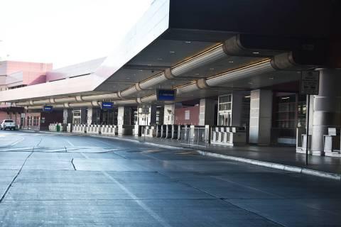 El Tiempo recorrió el Aeropuerto Internacional McCarran, el cual luce prácticamente vacío. J ...