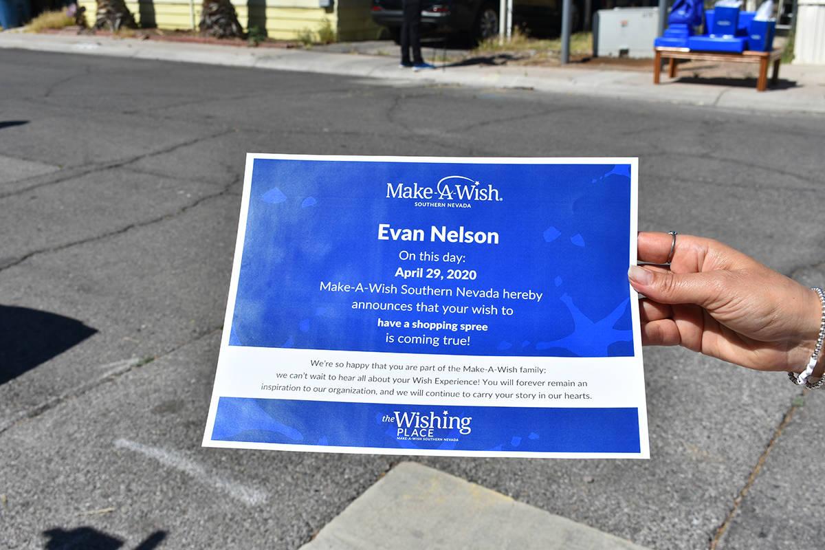 """Make-A-Wish celebró el """"Día Mundial del Deseo"""" sorprendiendo a un adolescente del valle d ..."""