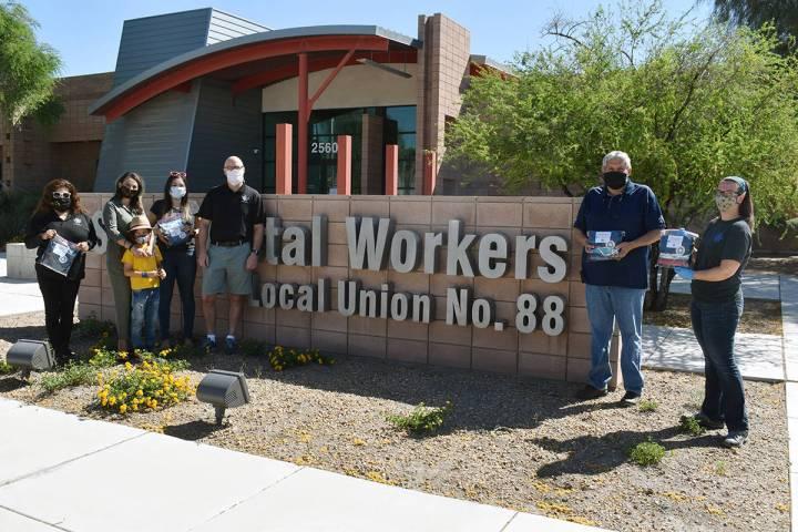 "El Local 720 de ""International Alliance of Theatrical Stage Employees Union"" en Las Vegas, ..."