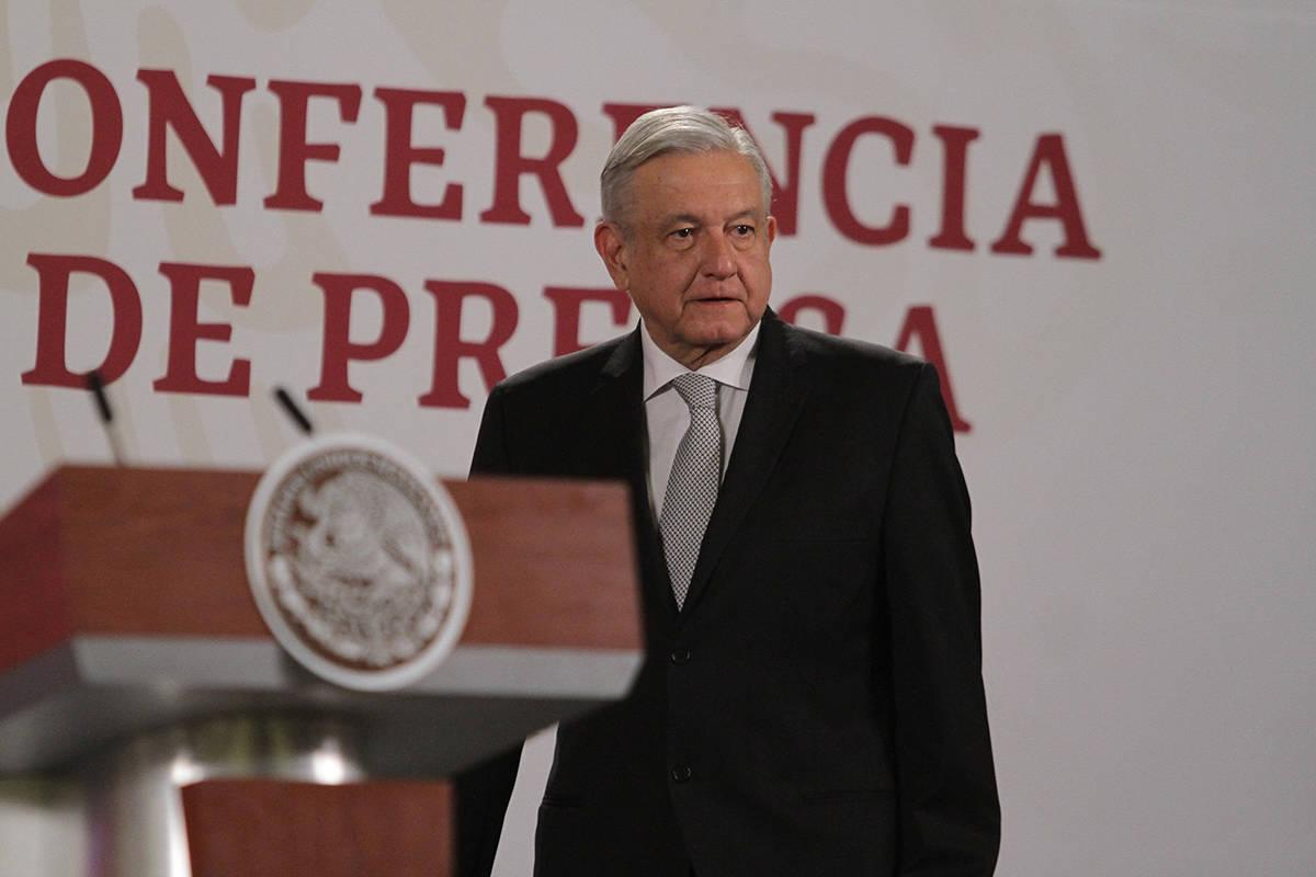 ARCHIVO. Ciudad de México, 5 May 2020 (Notimex-Gustavo Durán).- El presidente Andrés Manuel ...