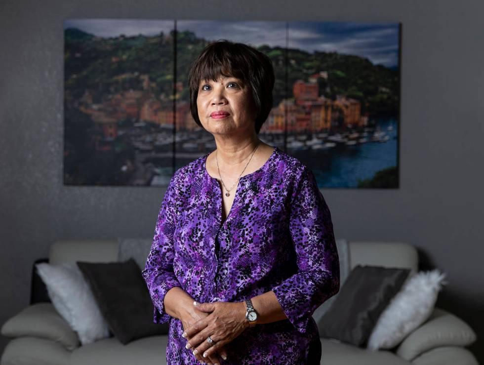 La enfermera Doris Bauer es la presidenta de la Asociación Filipina de Enfermeras de Nevada. ( ...