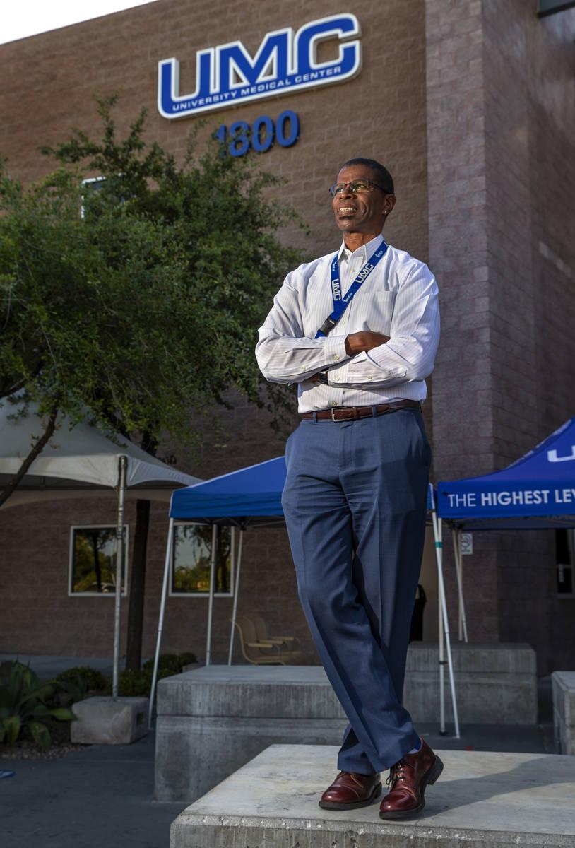 Dave Tyrell es el supervisor clínico de trasplantes del Centro Médico Universitario de Las Ve ...