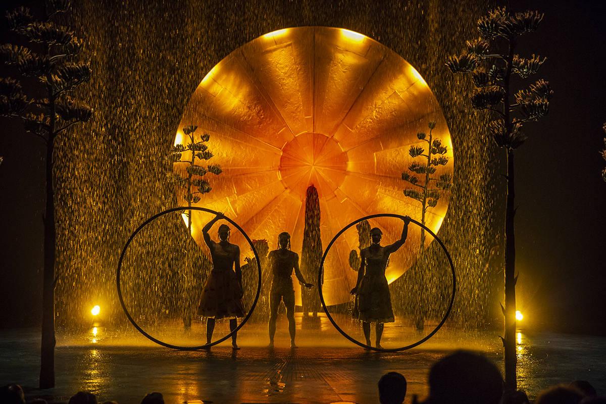 Fotografía de archivo del Cirque du Soleil durante una de sus funciones. [Foto Matt Beard / Ci ...