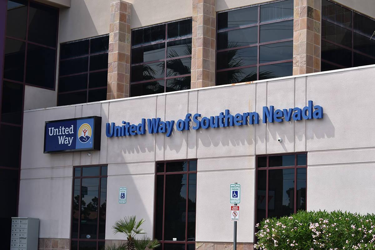 Exterior del edificio de United Way of Southern Nevada (UWSN), situado sobre West Flamingo Road ...