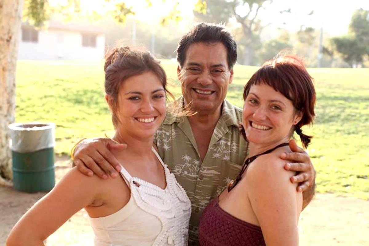 Luis A. Frías con sus hijas Luisa Frías, derecha, y Lauren Frías. Luis Frías murió a los 6 ...