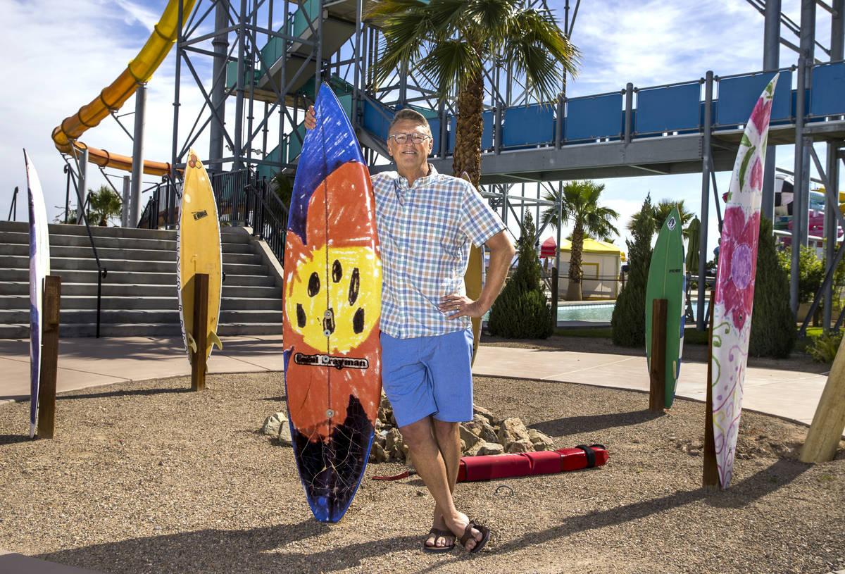 El Director General de Cowabunga Bay, Shane Huish, está asegurando nuevas medidas de seguridad ...