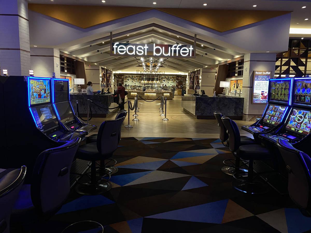 El Feast Buffet de Palace Station en Las Vegas el lunes, 16 de marzo de 2020. (K.M. Cannon/Las ...