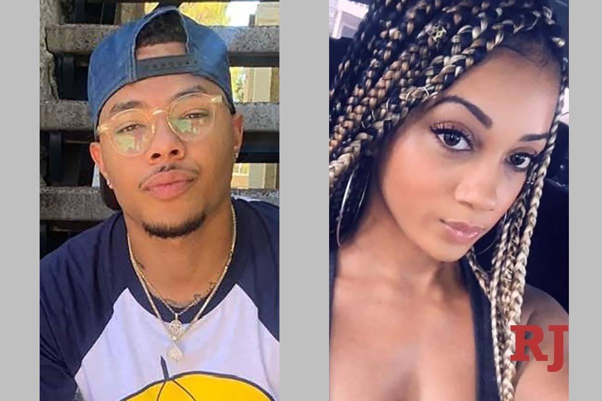 Gregory Tyree Boyce y Natalie Adepoju (Facebook, GoFundMe).