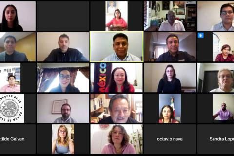 """El Comité de Asuntos Internacionales realizó encuentro virtual """"Migrantes de la CDMX en Est ..."""