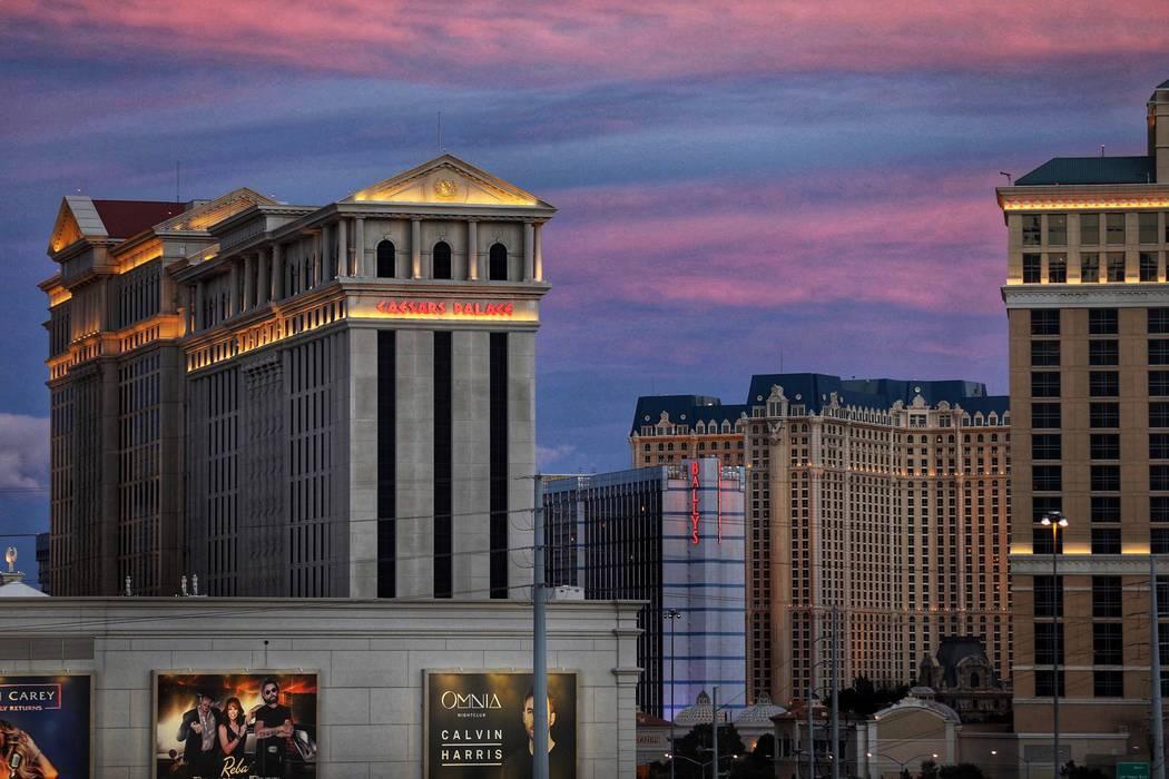 Caesars Palace en el Strip de Las Vegas. (Todd Prince/Las Vegas Review-Journal)