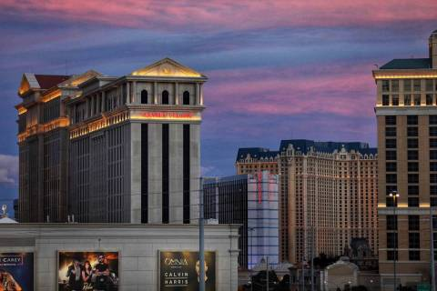 Caesars Palace en el Strip de Las Vegas. (Todd Prince/Las Vegas Review-Journal)