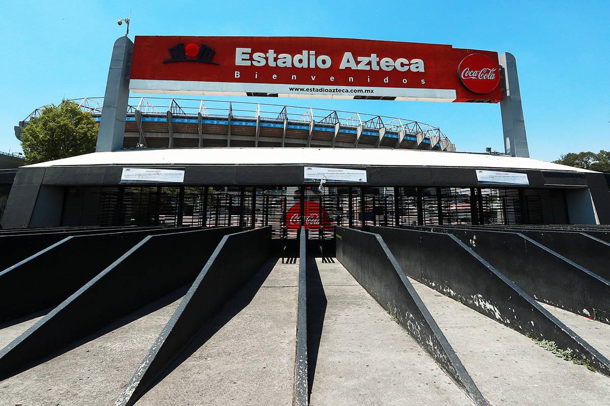 Ciudad de México, 22 Mar 2020 (Notimex- Francisco Estrada).- El Estadio Azteca, ubicado al sur ...