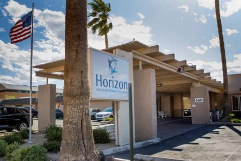 Exterior de Horizon Health and Rehabilitación que tiene 38 casos de coronavirus que involucran ...