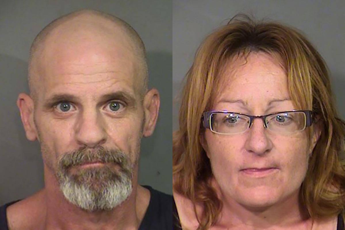 Charles Ausiello, 55, y Jolene Hibbs, 45 (Departamento de Policía Metropolitana de Las Vegas).