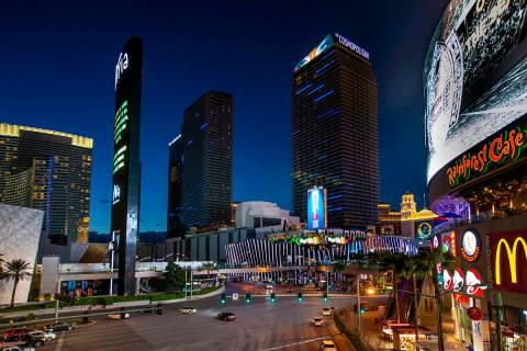 The Cosmopolitan de Las Vegas cerrado temporalmente el martes, 16 de marzo de 2020 en Las Vegas ...