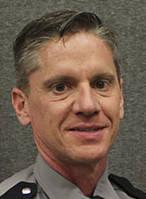 El Coronel Daniel Solow de la Patrulla de Carreteras de Nevada.