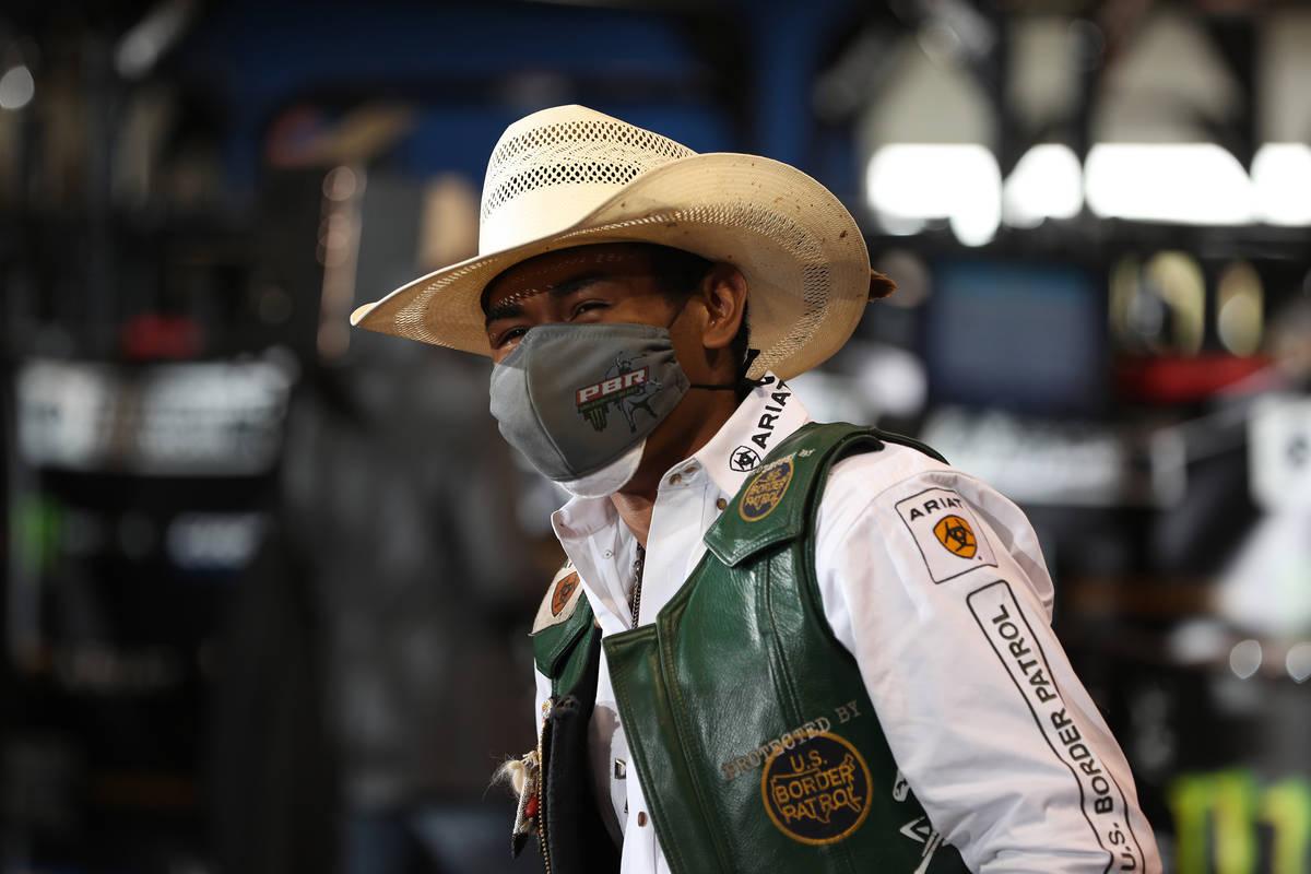 Keyshawn Whitehorse durante la segunda ronda de la Guthrie Las Vegas Invintational Unleash The ...