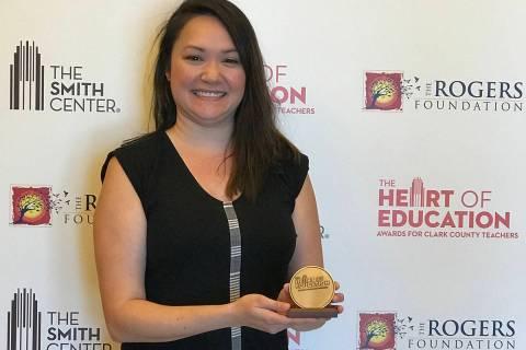 La profesora Bianca Bautista ha conseguido importante avances en el programa de idiomas de la A ...