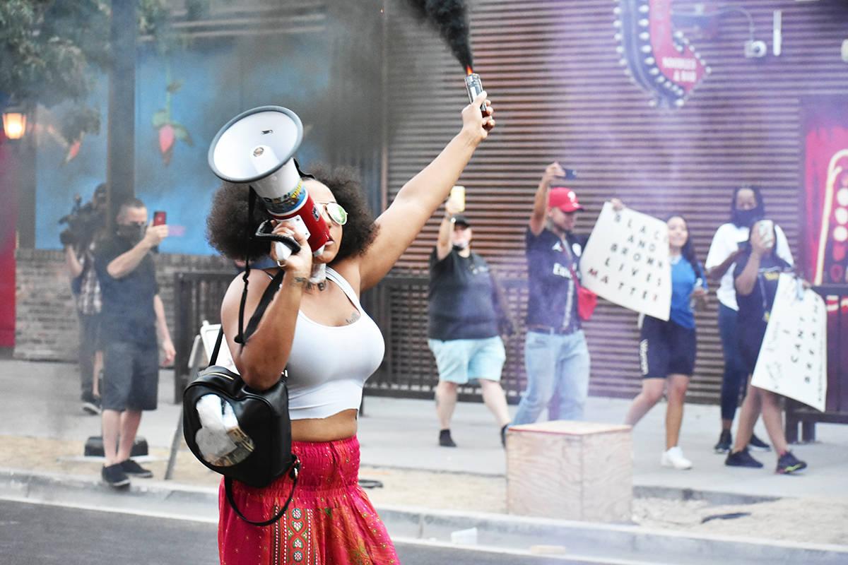 La serie de protestas 'Black Lives Matter' se llevó durante tres días continuos en las zo ...