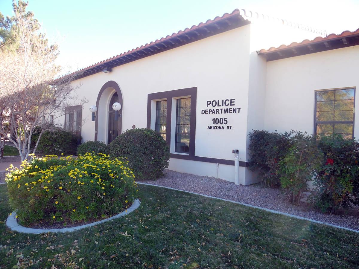 Departamento de Policía de Boulder City, 1005 Arizona St. (Las Vegas Review-Journal)