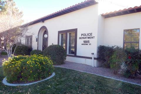 Departamento de Policía de Boulder City, 1005 Arizona St. (Las Vegas Review-Journal)