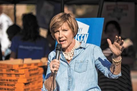 Representante Susie Lee (Benjamin Hager / Las Vegas Review-Journal archivo).