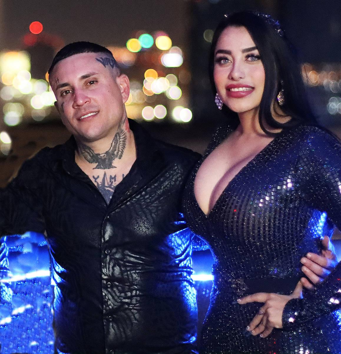 Osmani García realizó un videoclip en el Downtown. En la foto es acompañado por la reconocid ...