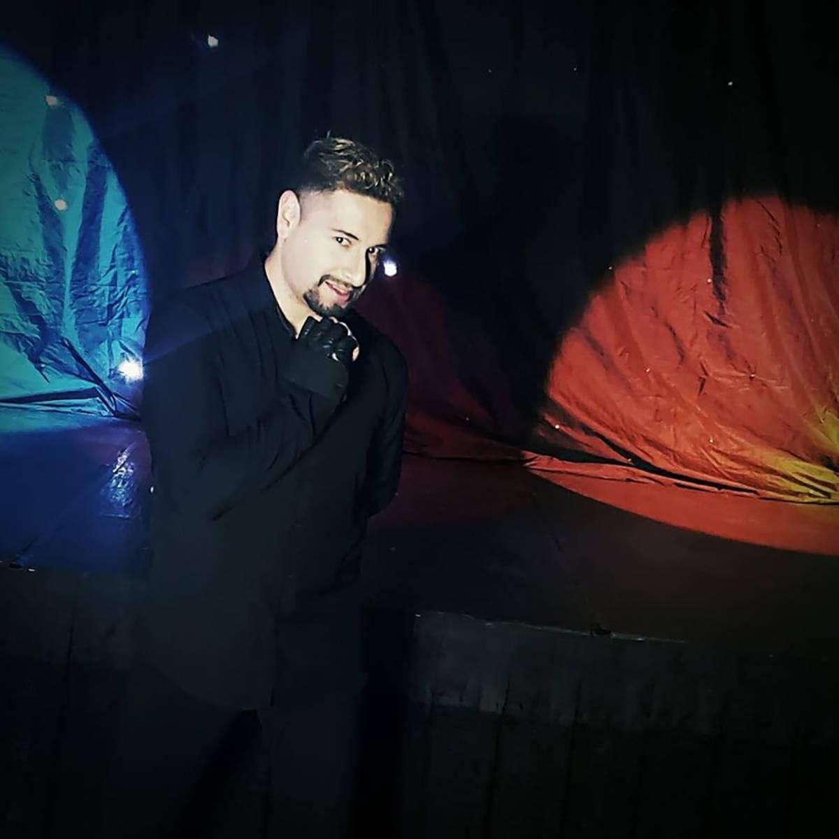 Omar Kami es un cantante con experiencia en escenarios locales de Las Vegas y Tijuana. [Foto Co ...