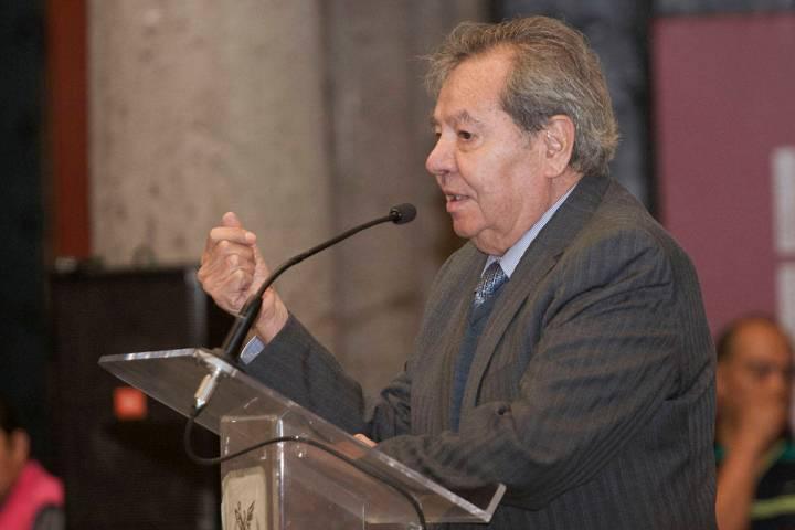 Porfirio Muñoz Ledo. [Fotografía Milton Martínez / Secretaría de Cultura CDMX]