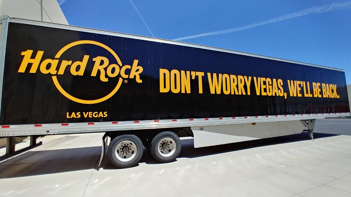 Luego de una pausa, el Hard Rock hotel & casino augura un inminente regreso a Las Vegas, en la ...