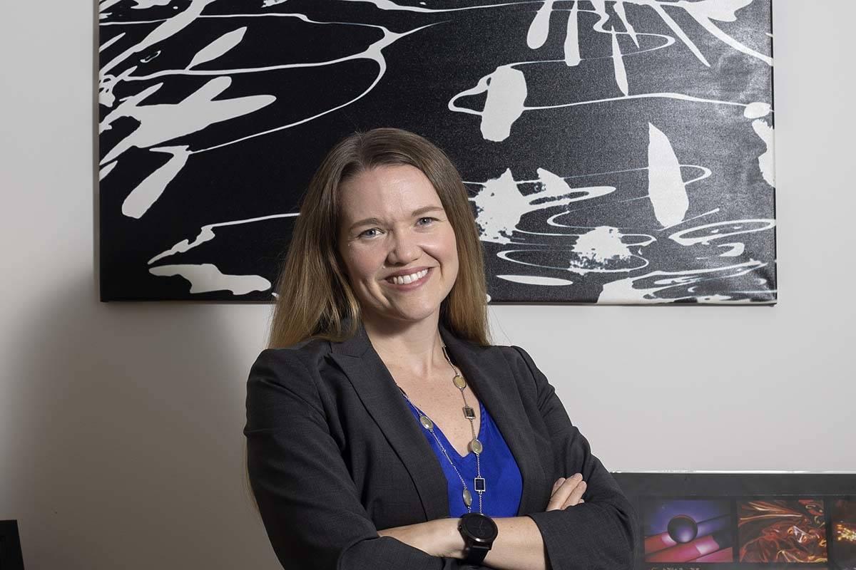 La doctora Jessica Caldwell es la directora del Women's Alzheimer's Prevention Center at Clevel ...