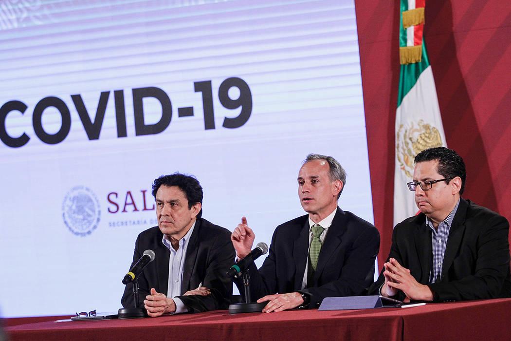 ARCHIVO. Ciudad de México, 1 Mar 2020 (Notimex-Alejandro Guzmán).- Conferencia de prensa sobr ...