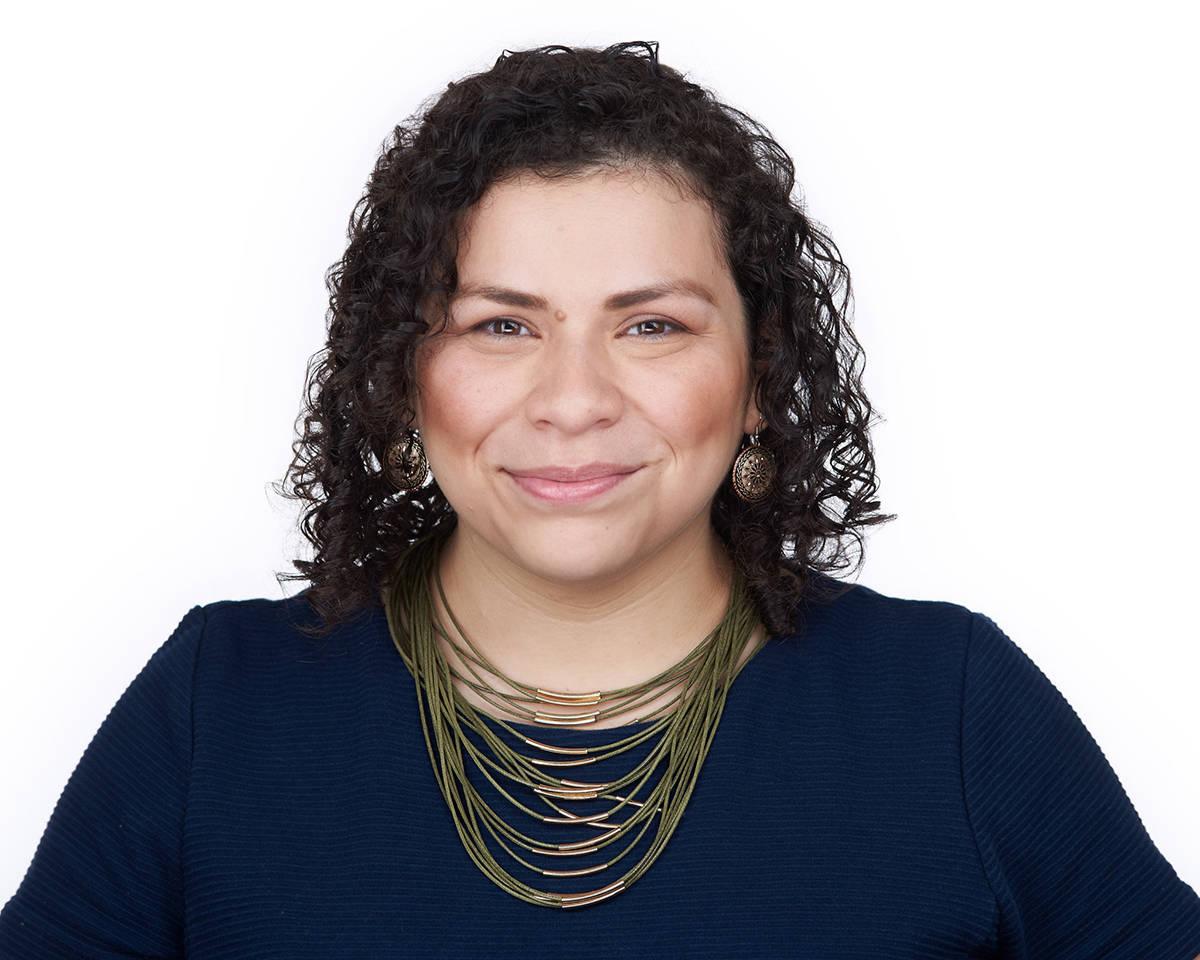 La directora ejecutiva de FFLV, Evelyn García Morales, explicó los programas que su organizac ...
