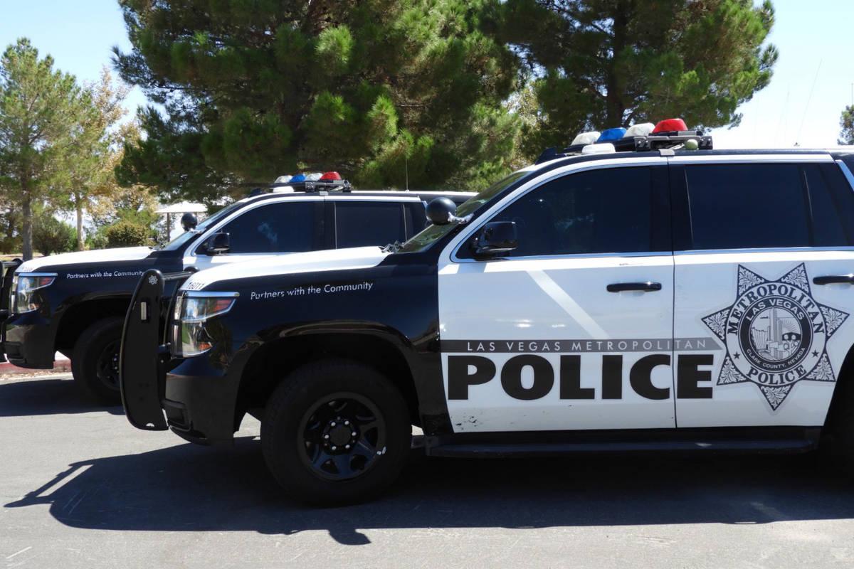 LVMPD. (Las Vegas Review-Journal)