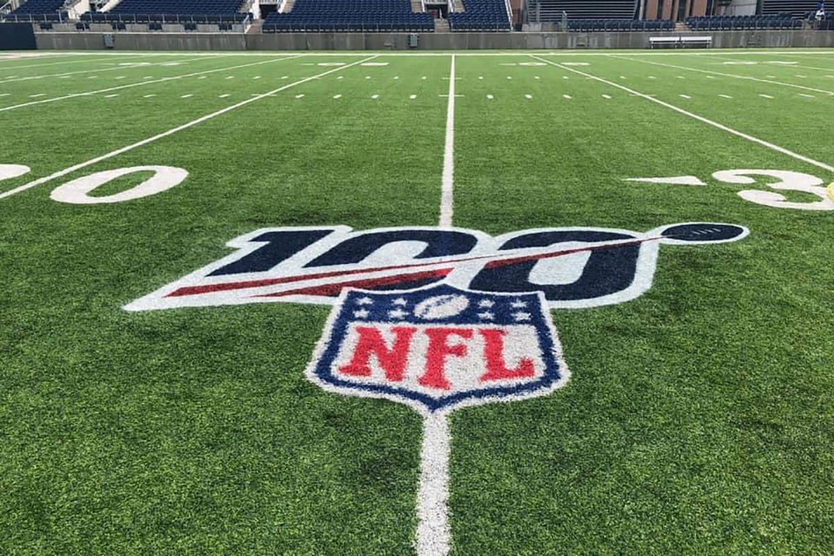 El Estadio del Hall of Fame Tom Benson está listo para el lanzamiento del #NFL100. Los Atlanta ...