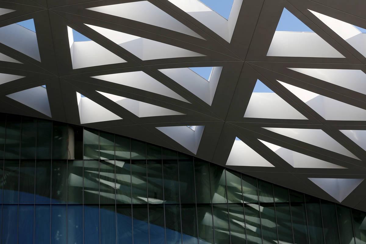 El proyecto de expansión del Centro de Convenciones de Las Vegas el jueves, 25 de junio de 202 ...