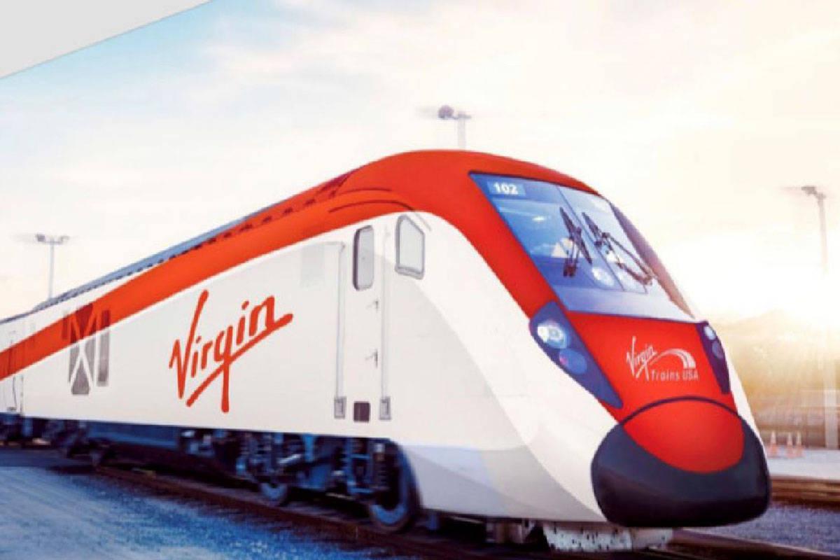 Los planes del tren de alta velocidad de Virgin Trains USA recibieron otro impulso en Californi ...