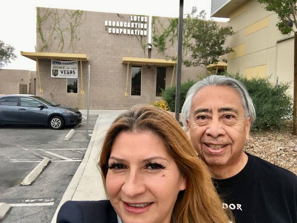 Luis Enrique Bonilla fue reconocido por su vasta trayectoria en medios de comunicación en Las ...