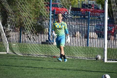Ángel Álvarez entrena con Las Vegas Lights FC previo a la reanudación de la USL Championship ...