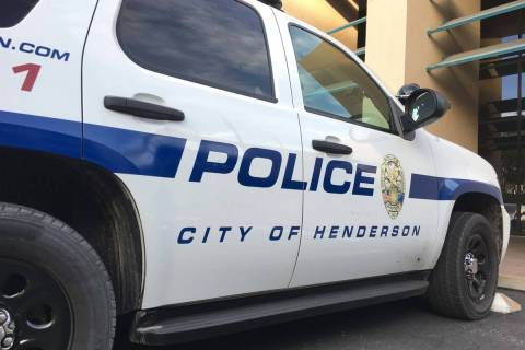 Departamento de Policía de Henderson (Las Vegas Review-Journal).