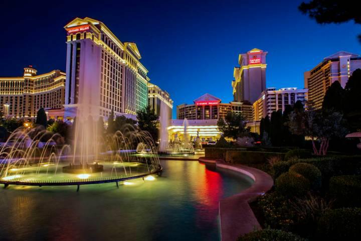 Caesars Palace en Las Vegas el 23 de junio de 2019. (L.E. Baskow/Las Vegas Review-Journal)